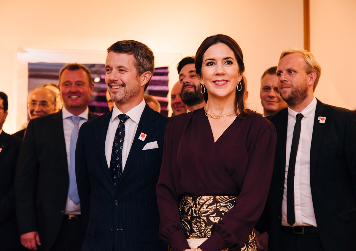 HRH The Crown Prince Couple of Denmark